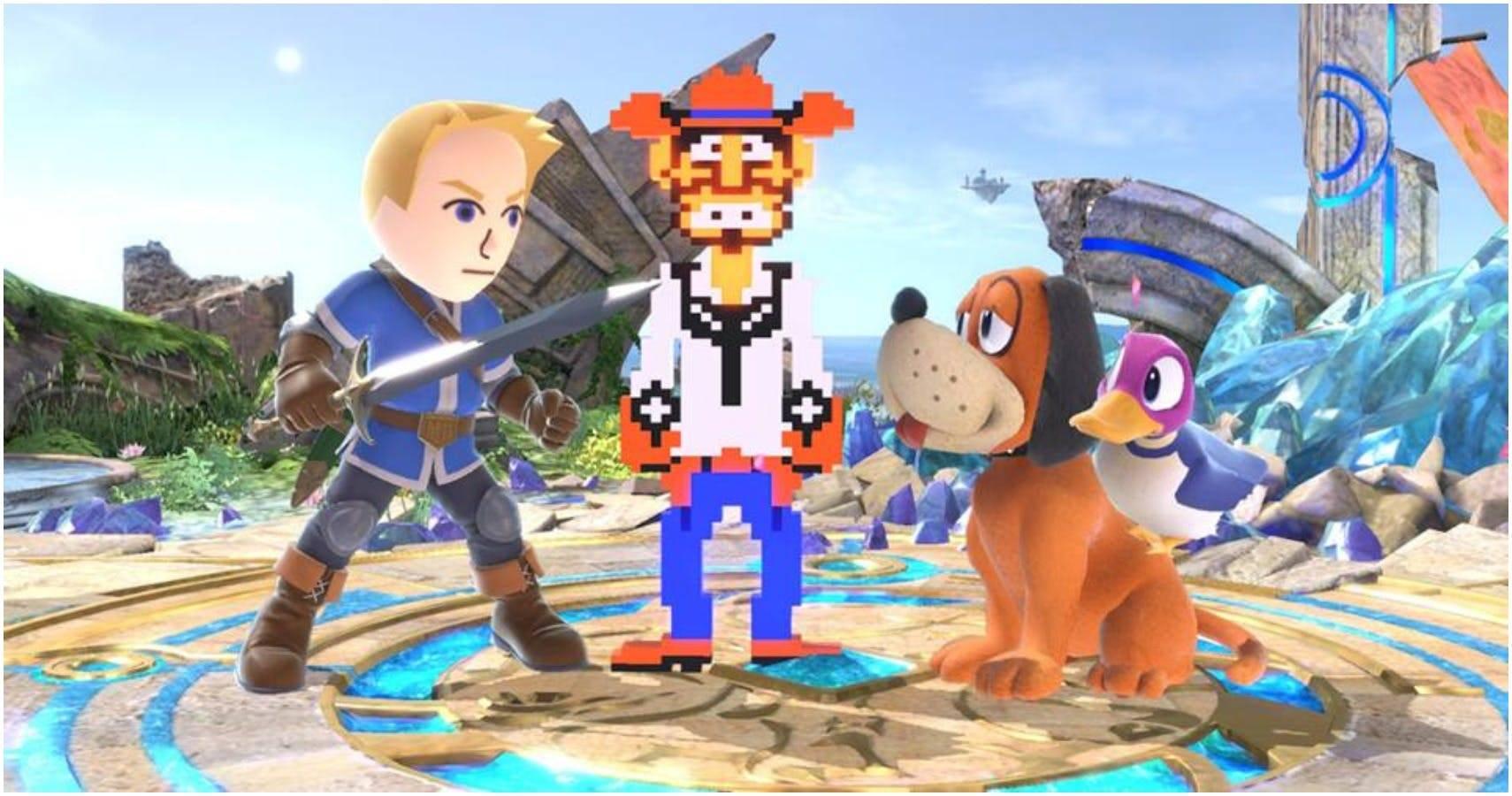 Smash Bros Planta Piraña