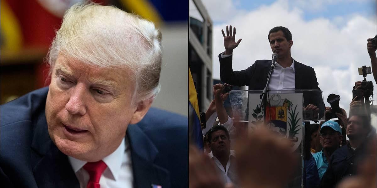 """Trump habló con Juan Guaidó y lo felicitó por la  """"histórica asunción"""" a Presidencia de Venezuela"""