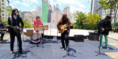 hey jude banda cover the beatles show galeria do rock