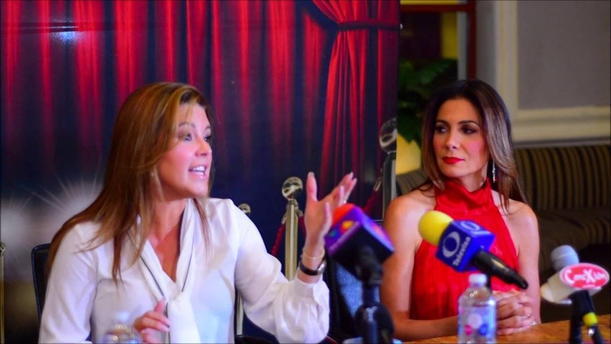 Alicia Machado y Patricia Manterola