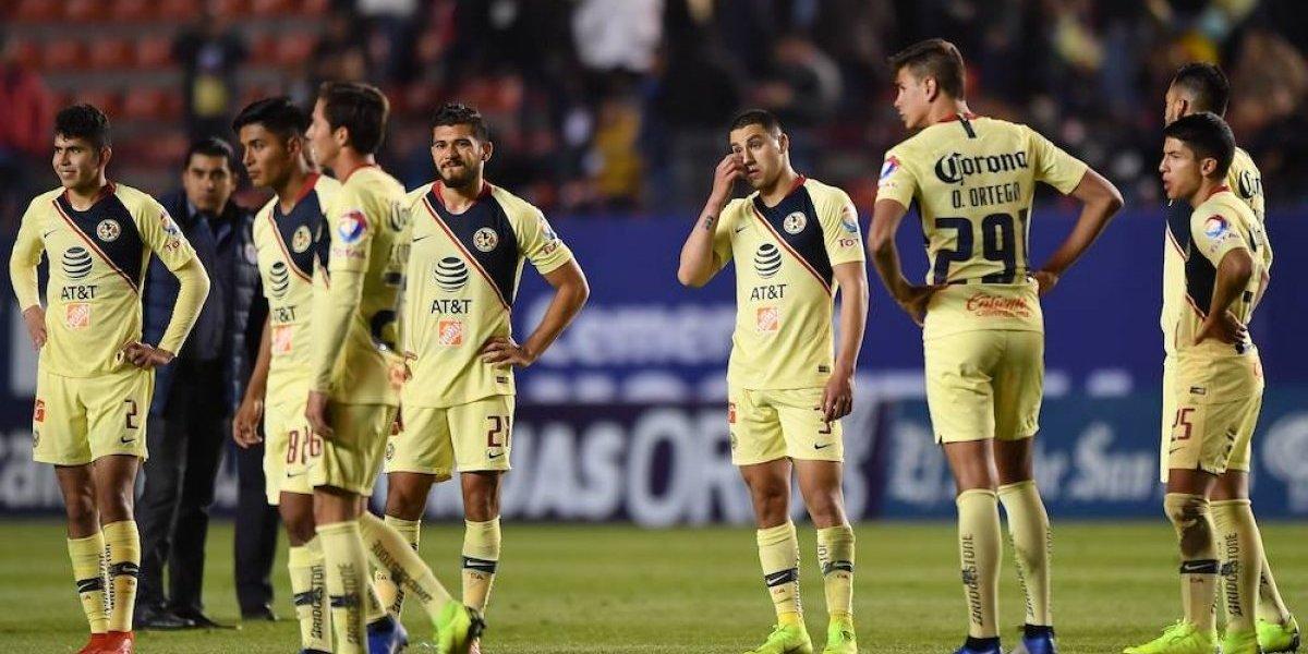 América sufre su segunda derrota, ahora ante el Atlético San Luis