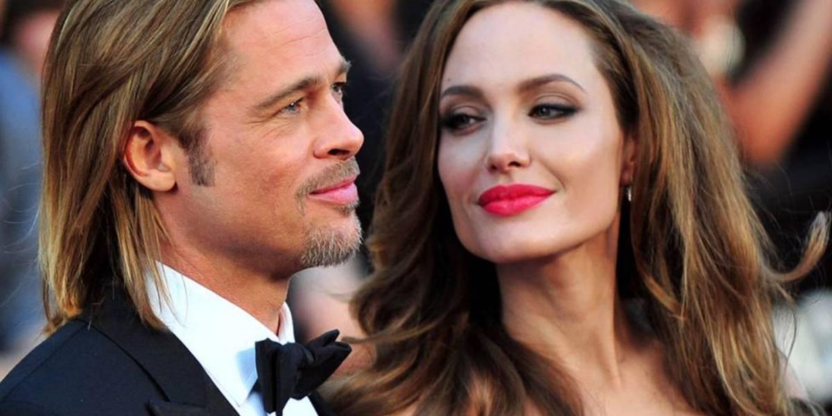 ¿Volvieron? Las fotos de Brad Pitt y Angelina Jolie juntos que desataron rumores de reconciliación