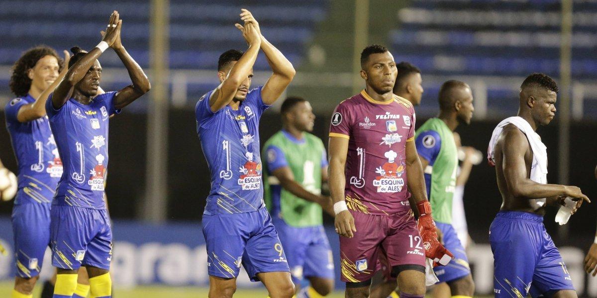 Delfín dio otro golpe en la Copa Libertadores y asoma como posible rival de la U