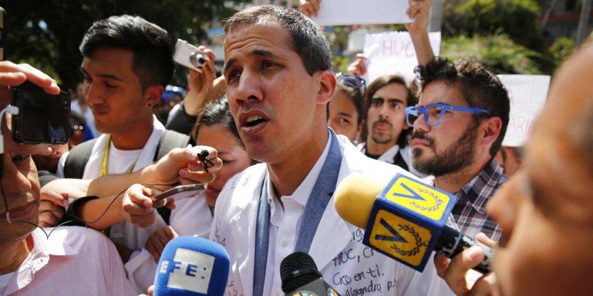 Parlamento Europeo pide reconocer a Juan Guaidó en Venezuela