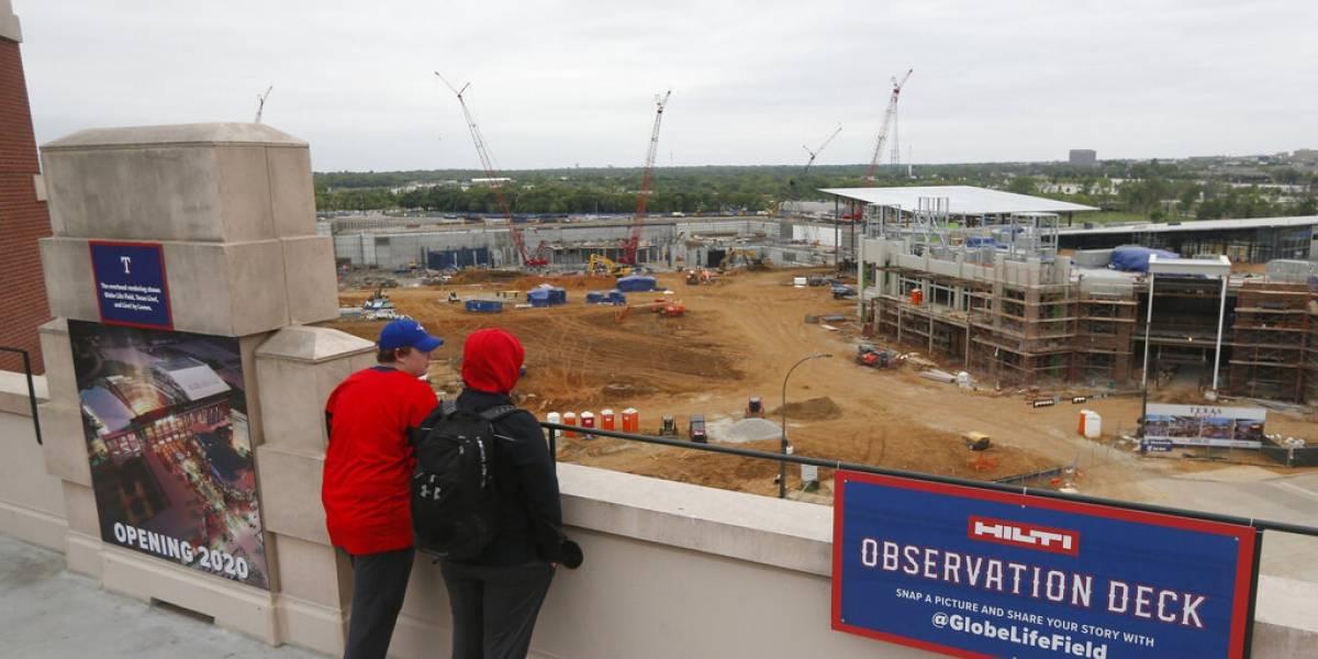 Nuevo estadio de los Rangers será con superficie sintética