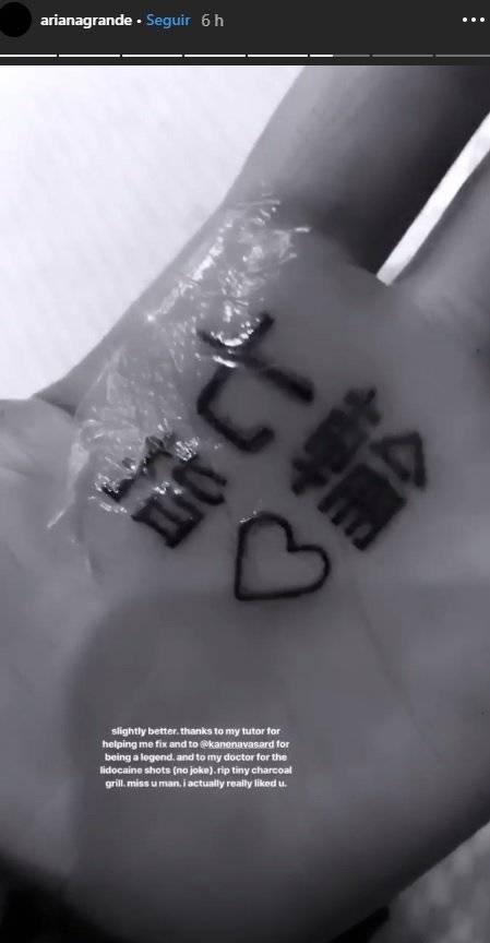 Tatuaje Ariana Grande