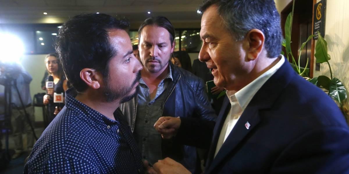 """Equipo de prensa de TVN que fue retenido en Venezuela: """"Fue una detención totalmente arbitraria"""""""