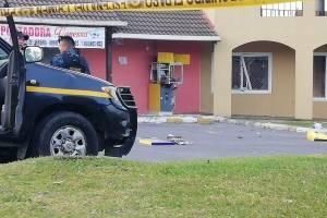 activan explosivo para abrir cajero automático en Villa Nueva