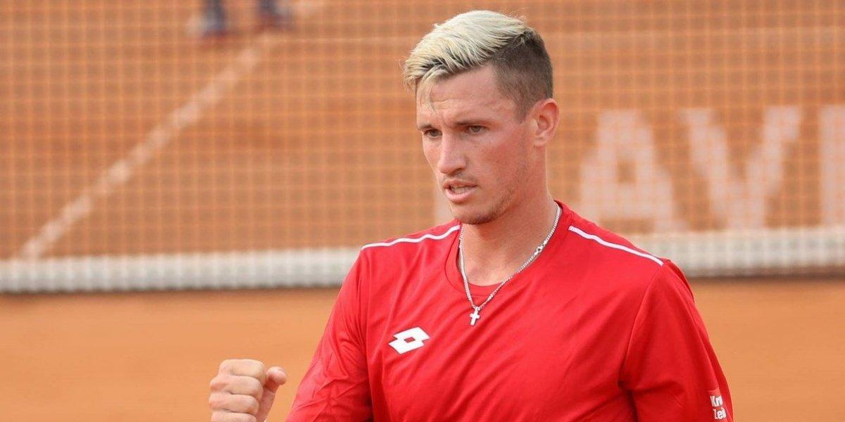 """El """"copero"""" Dennis Novak, el punto a vencer para Chile en la Davis ante Austria"""