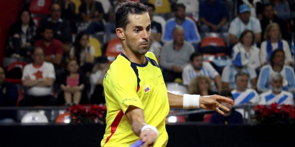 Santiago Giraldo y Elias Ymer abren la serie entre Colombia y Suecia en Copa Davis