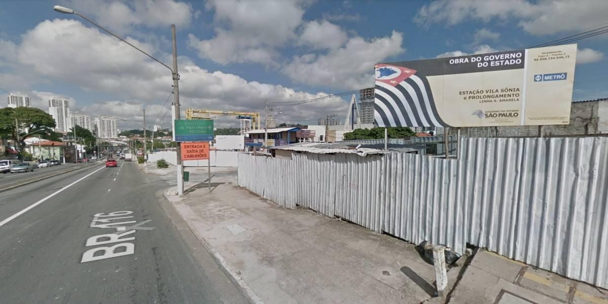 Obras do metrô interditam novo trecho da avenida Professor Francisco Morato