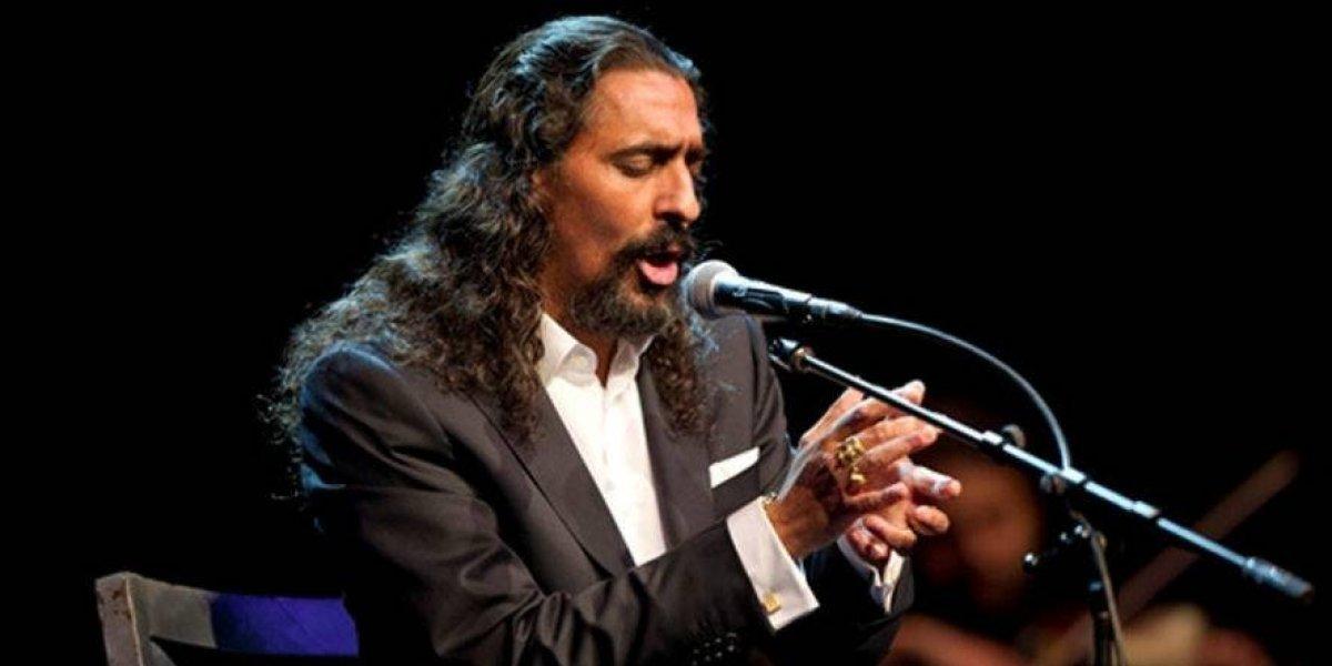 El Cigala pospone concierto en Santo Domingo por problemas de salud