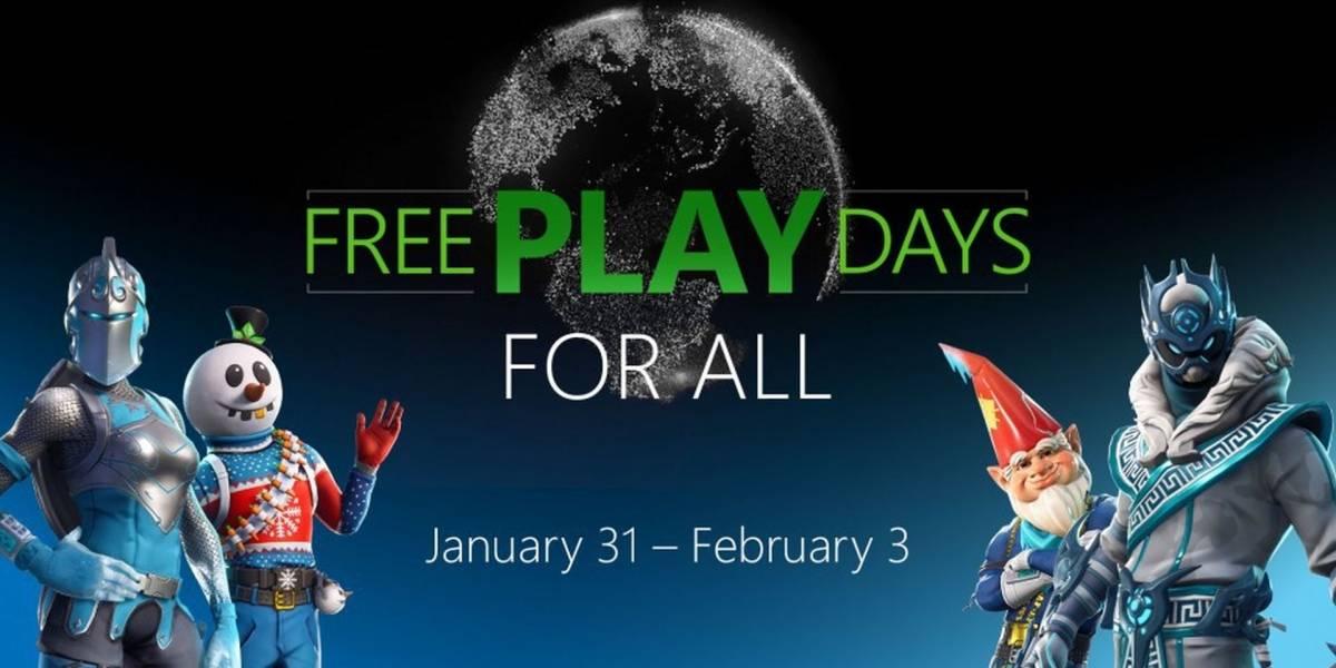 Xbox One: Pueden jugar en línea gratis durante este fin de semana