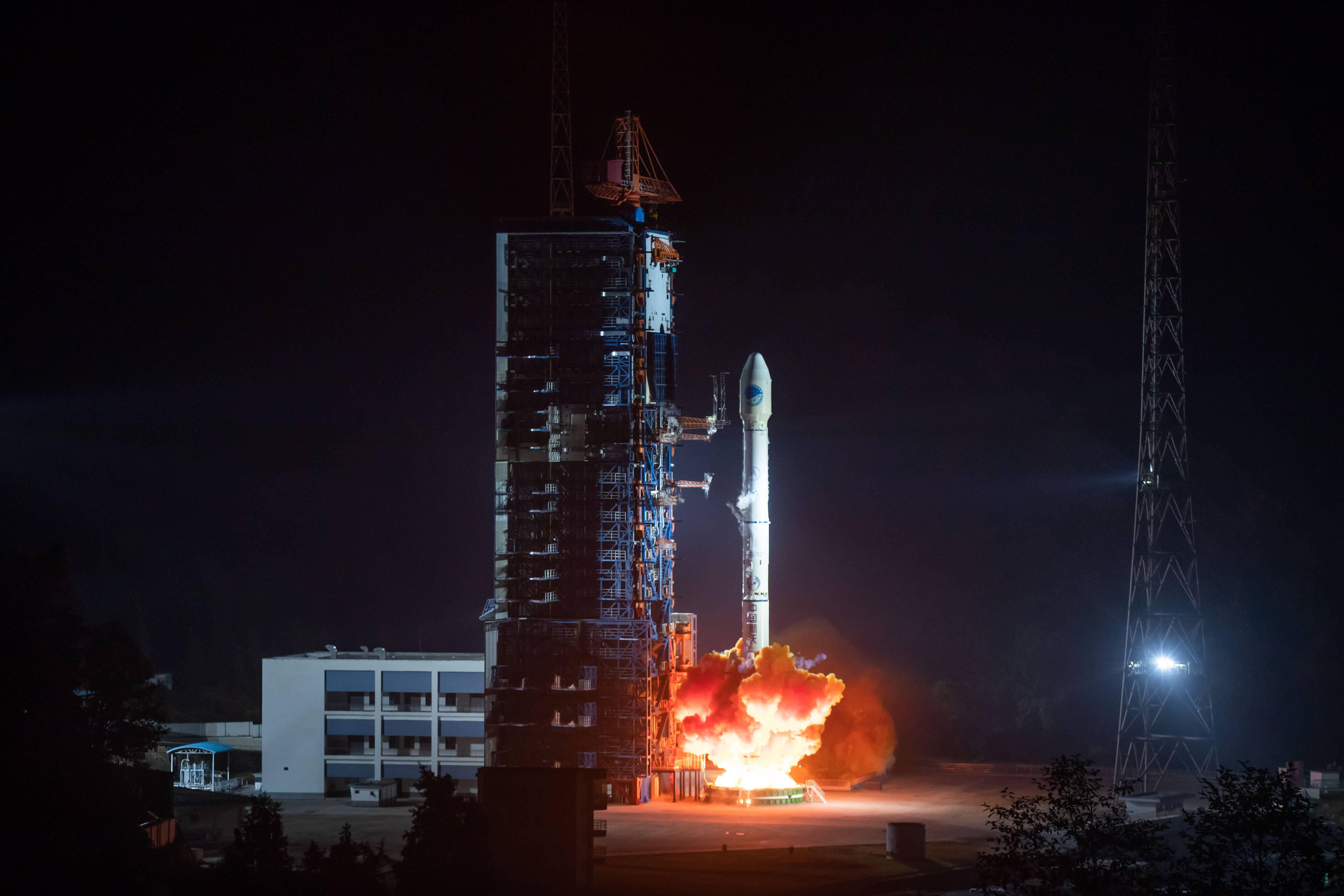 China planea lanzar al menos 50 naves al espacio a lo largo de 2019