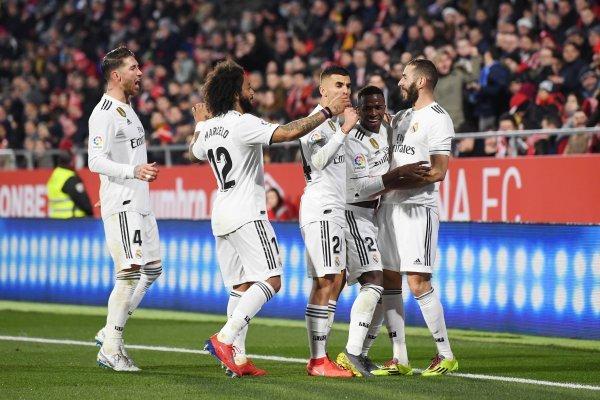 Real Madrid vence al Girona y avanza a las semifinales de la Copa del Rey - Getty Images