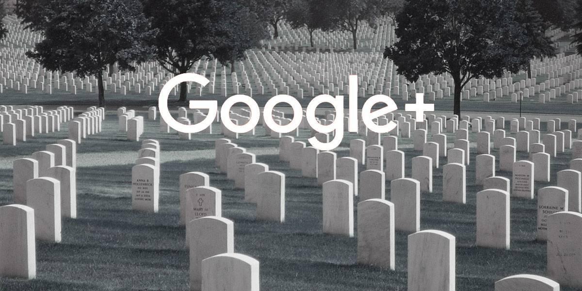 Google+ dejará de funcionar a partir del 2 de abril