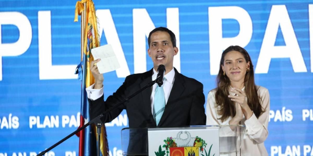 Lo que propone Guaidó para sacar a Venezuela de la crisis