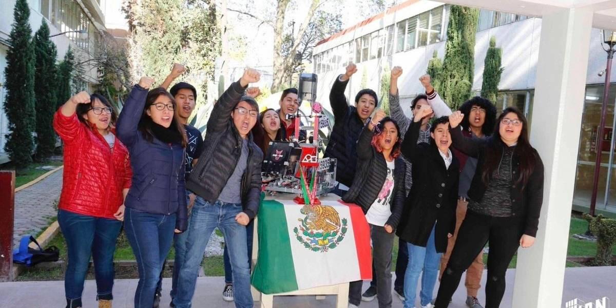 Estudiantes del IPN representarán a México en el Mundial de Robótica