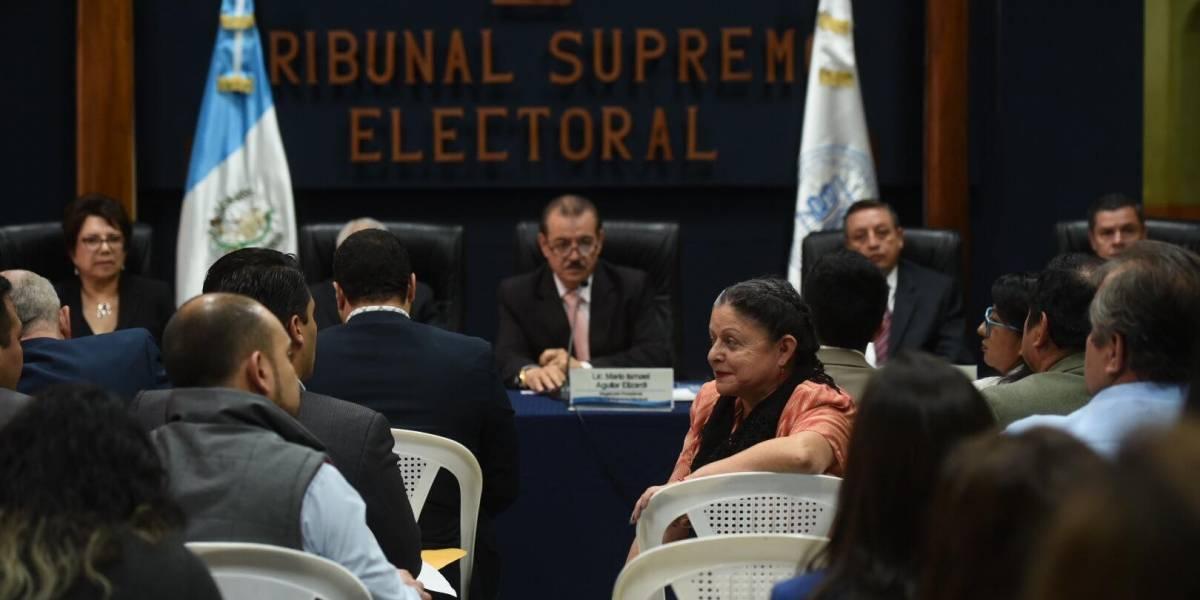"""Presidente del TSE ve """"complejo"""" el inicio del proceso electoral"""