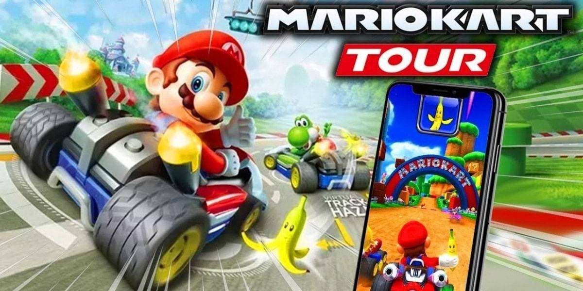 Mario Kart Tour retrasa su lanzamiento para móviles bastantes meses