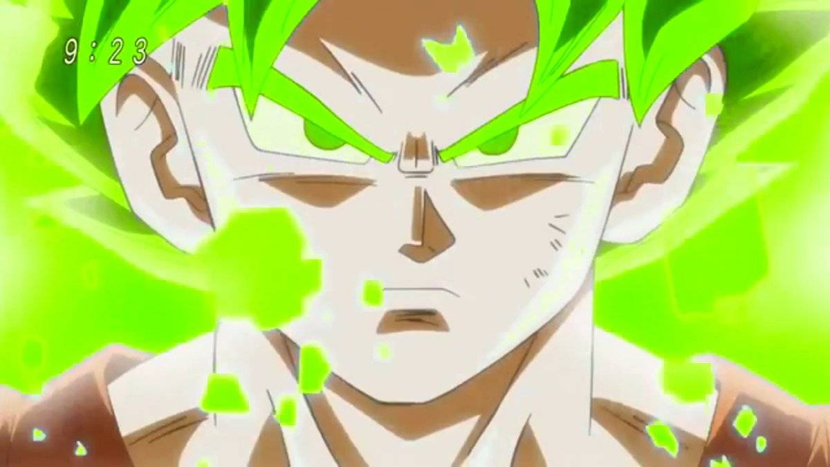 Dragon Ball Super: Broly habría revelado un nuevo nivel de poder, el Super Saiyan Green