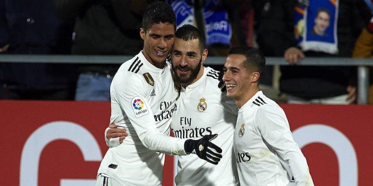 Real Madrid avanza sin problemas a las semifinales de la Copa del Rey