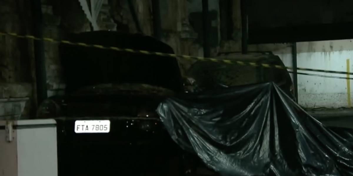Homem morre após muro de estacionamento desabar com força da chuva