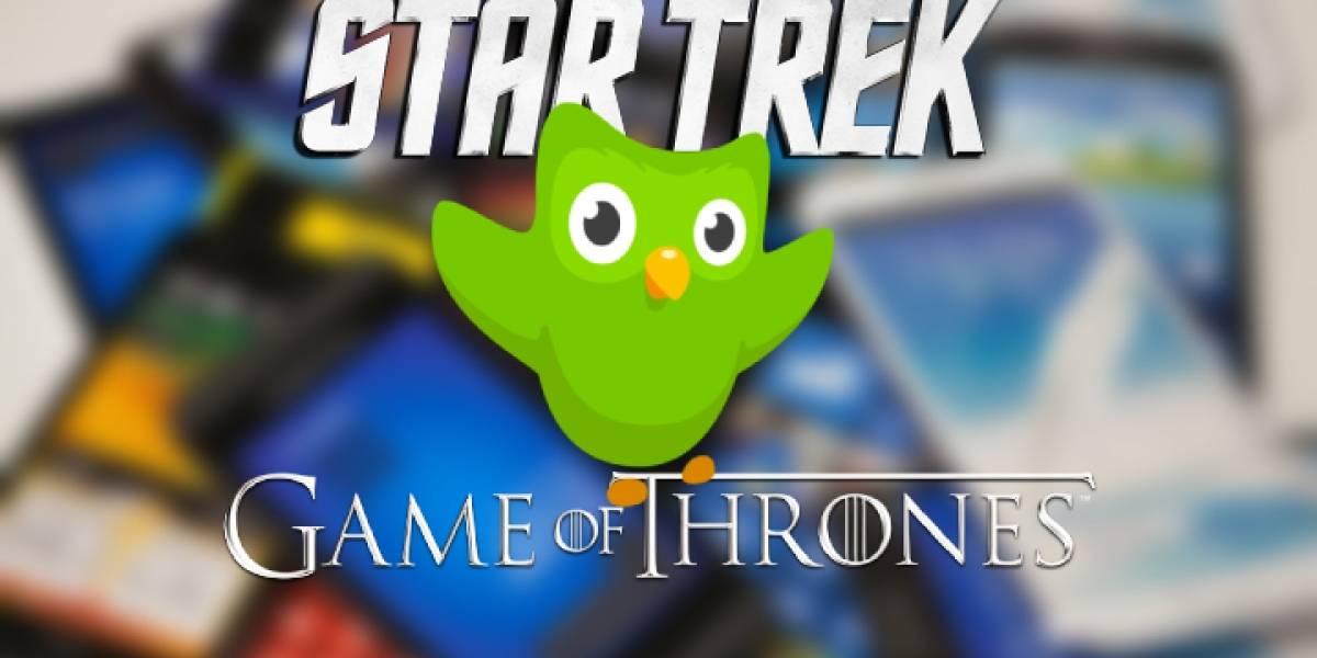 Ya puedes aprender los idiomas de Game of Thrones y Star Trek desde tu celular