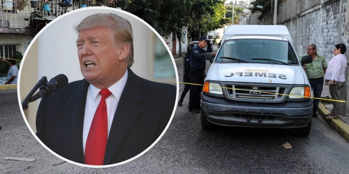 Asesinatos en México, peores que en Afganistán: Trump