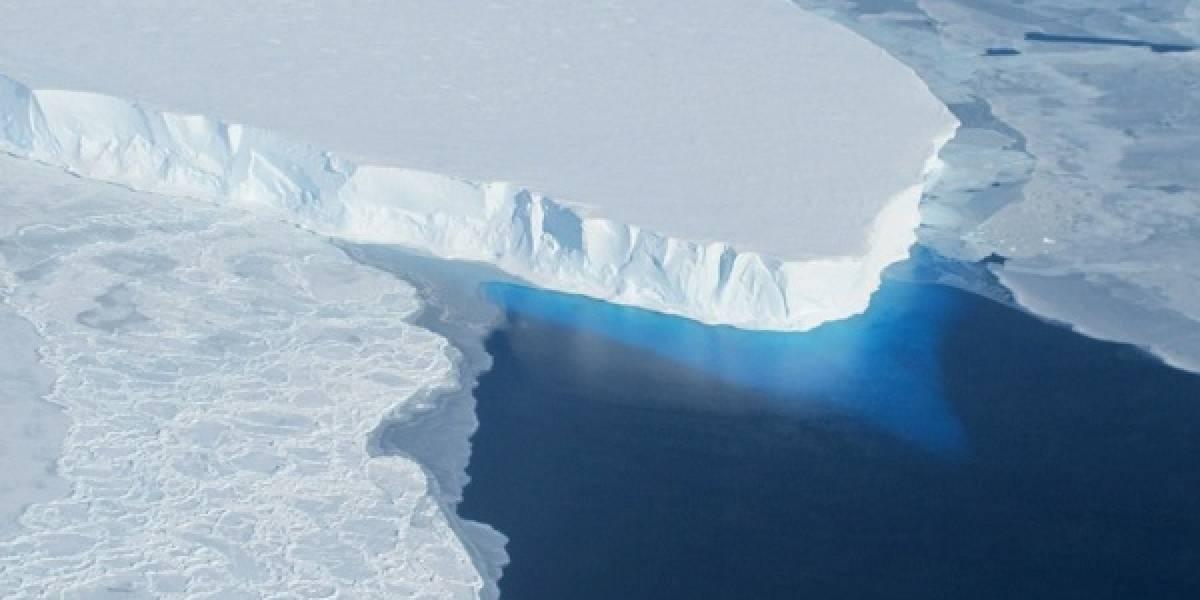 El glaciar más peligroso del mundo se está derritiendo rápidamente