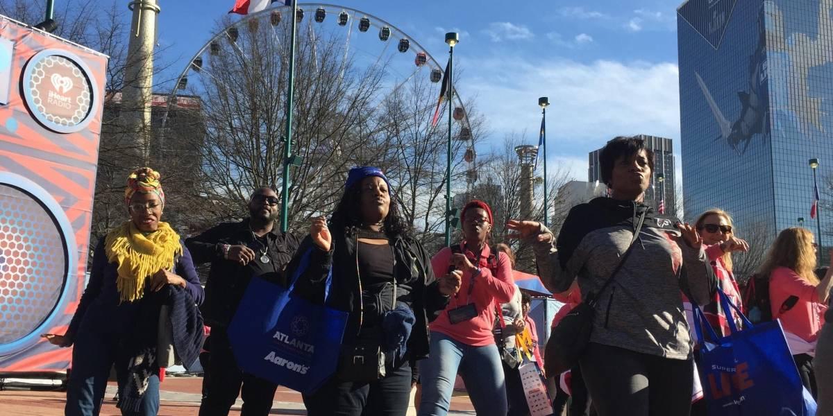 Desde Atlanta: ¿Cómo logran los aficionados vencer al frío antes del Super Bowl LIII?