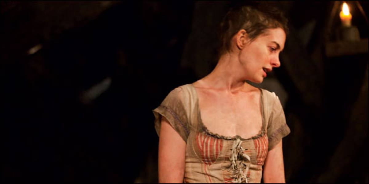 Anne Hathaway ficou doente após perder peso para papel em Os Miseráveis