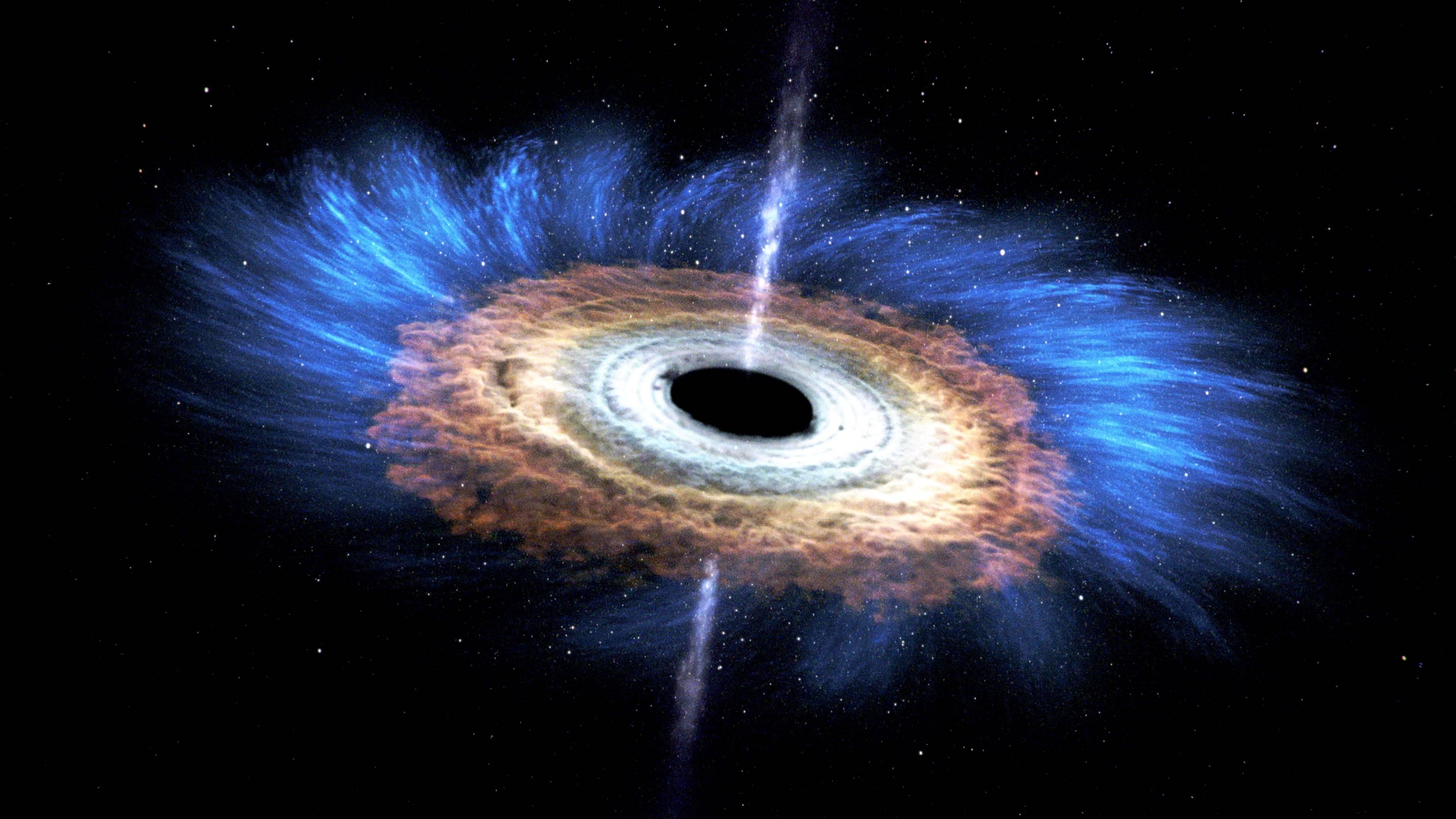"""La NASA logra trazar los """"Ecos de luz"""" de un nuevo agujero negro"""