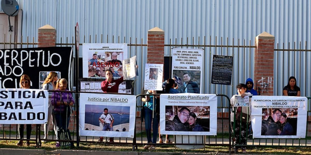 Con manifestación comenzó preparación de juicio para los presuntos asesinos de Nibaldo Villegas