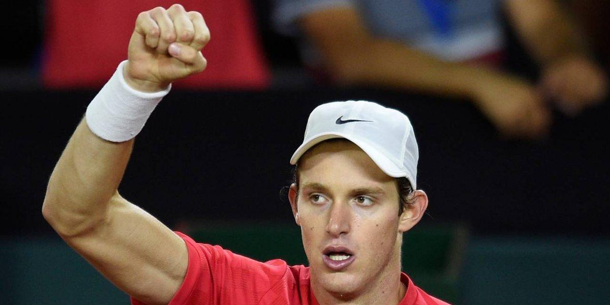 Nicolás Jarry demostró su clase y puso a Chile arriba ante Austria en la Copa Davis