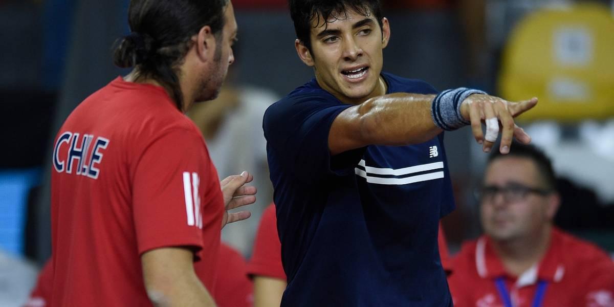 Así vivimos la caída de Christian Garín ante Dennis Novak en Copa Davis
