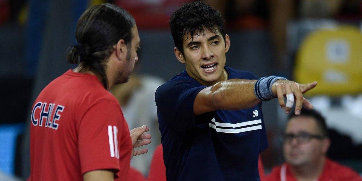 Así vivimos el notable triunfo de Christian Garín ante el austriaco Jurij Rodionov en Copa Davis