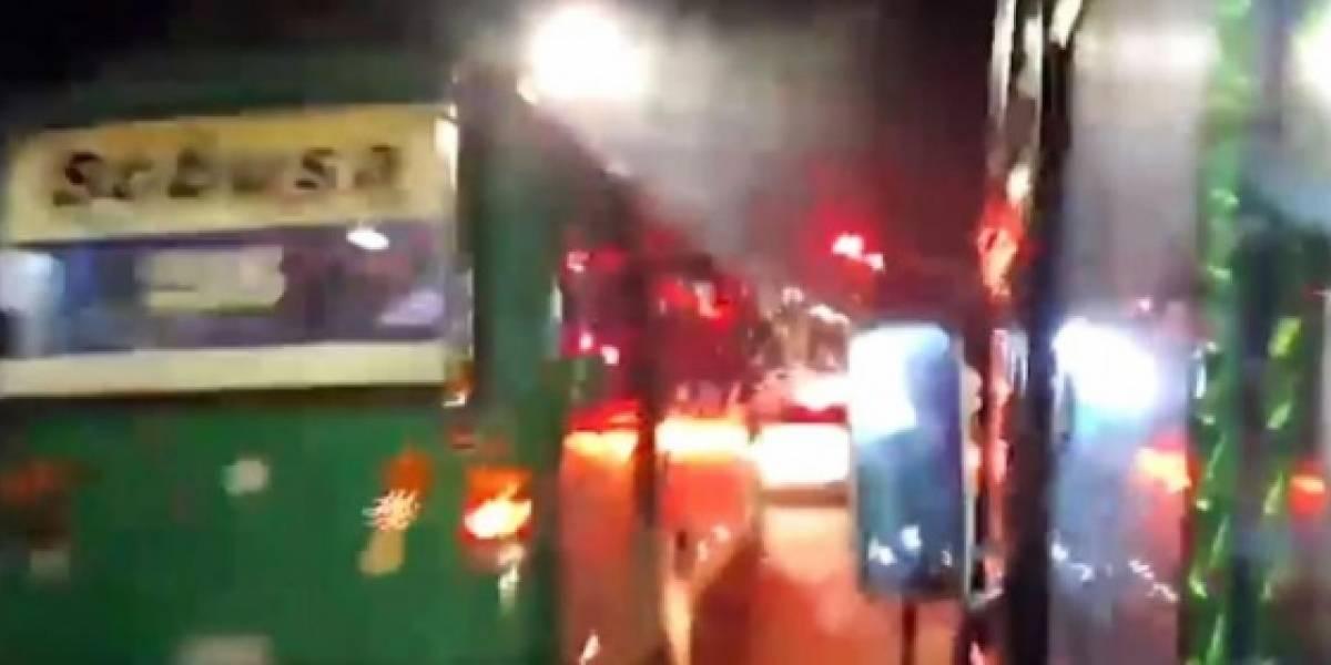 Vendedor ambulante hirió a conductor de bus porque no le permitió ofrecer su mercancía