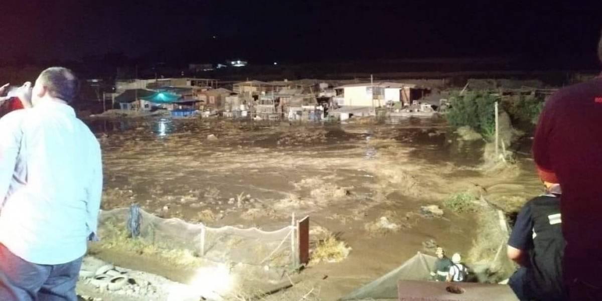 Región de Antofagasta: confirman un muerto y una desaparecida en el Loa tras crecida de río por invierno boliviano