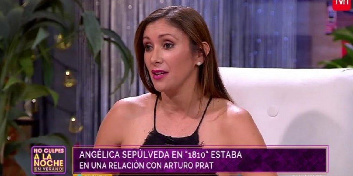 Angélica Sepúlveda revela por qué ocultó su embarazo a Arturo Prat