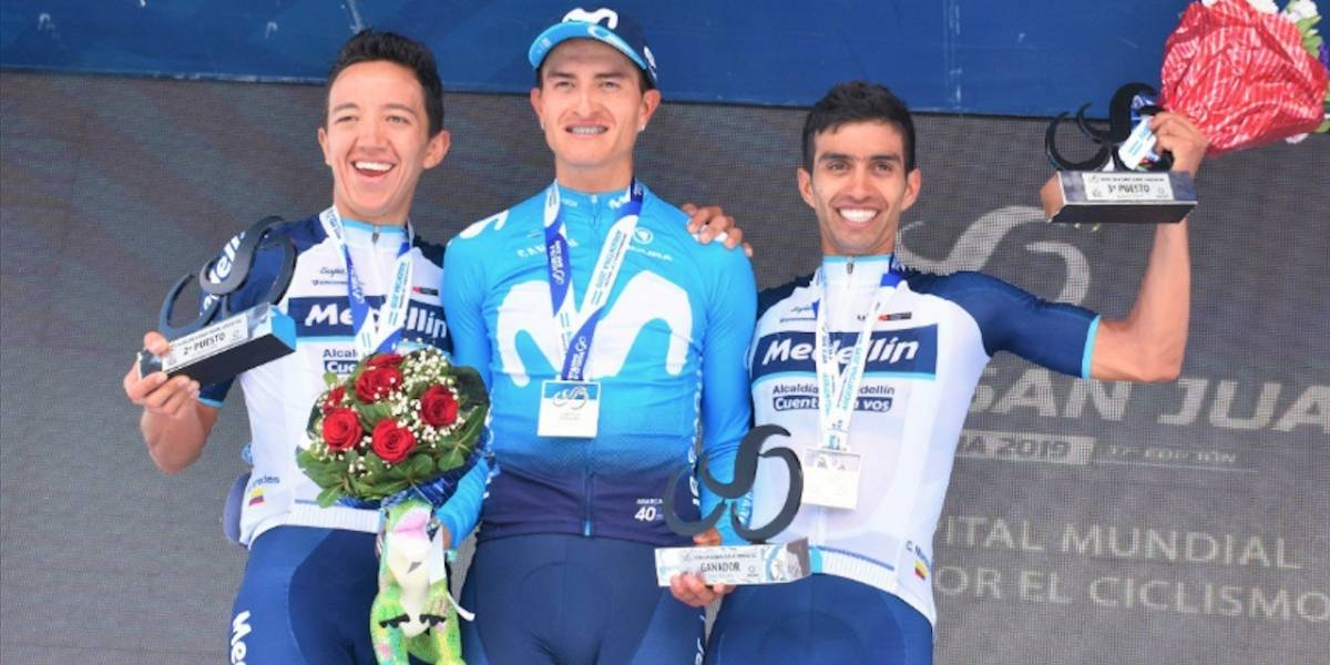 ¡2X1! Winner Anacona ganó la etapa reina y es nuevo líder de la Vuelta a San Juan
