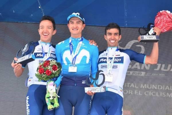 Video de la victoria de Winner Anacona etapa 5