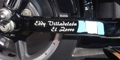 "Eddy Villadeleón ""Zorro mayor"""
