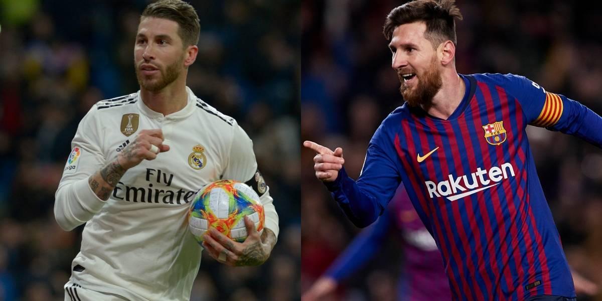 ¡El primer clásico del 2019 entre Barcelona y Real Madrid será en 'semis' de Copa del Rey!
