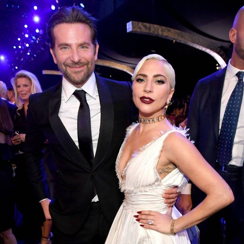 "La pareja protagonizó la cinta ""A star is born"" Getty Images"