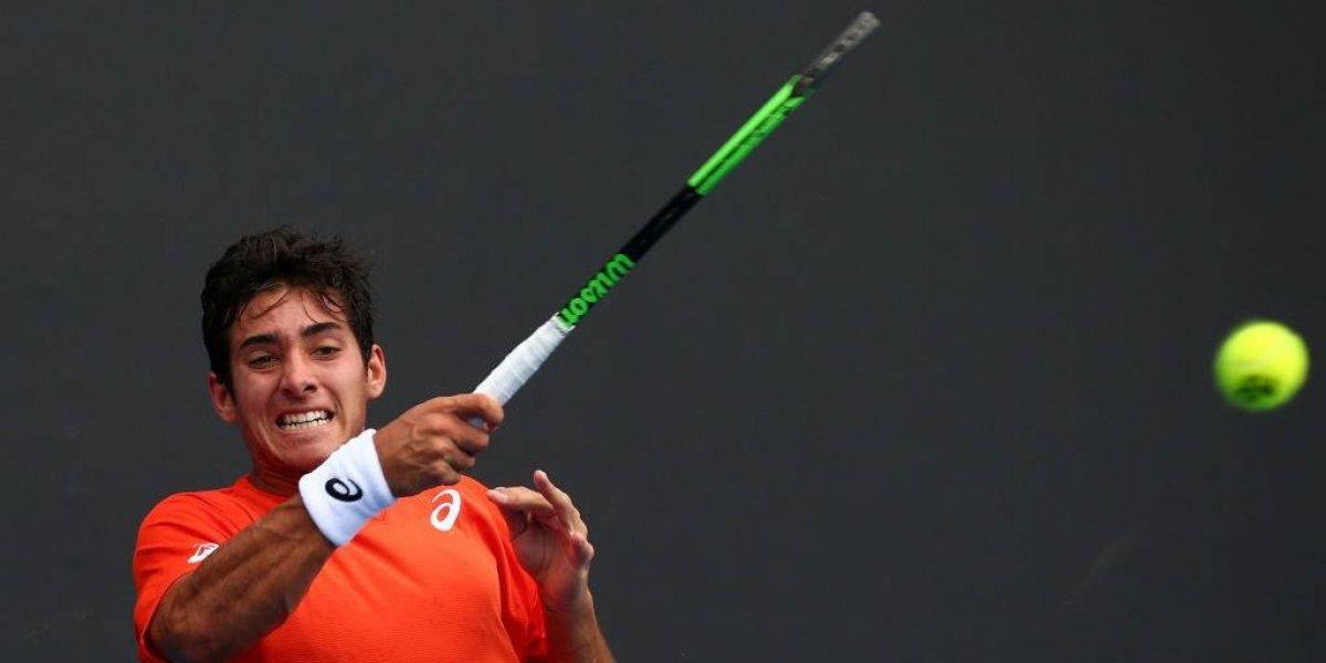 Christian Garín nuevamente decepcionó y Austria igualó la serie ante Chile en la Copa Davis