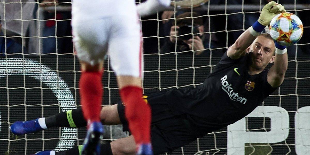 Jasper Cillessen se lesionó y se perderá el derbi entre Barcelona y Real Madrid por Copa del Rey