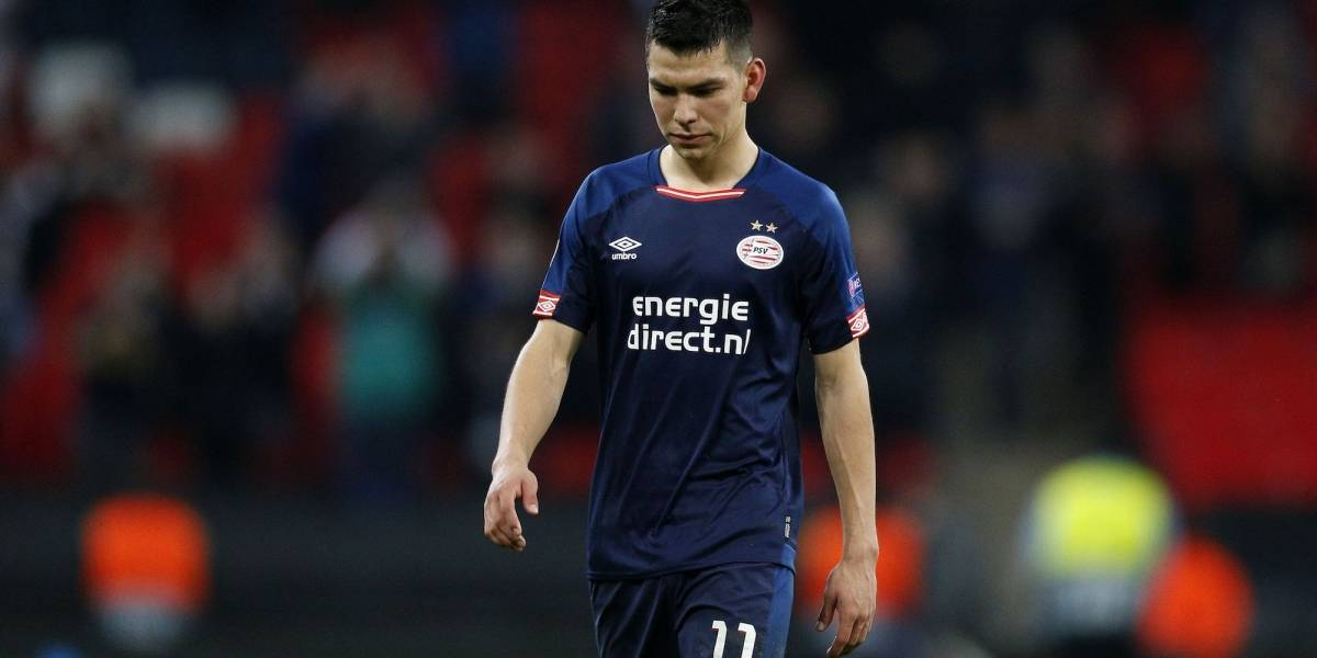 PSV deja fuera a 'Chucky' Lozano por precaución