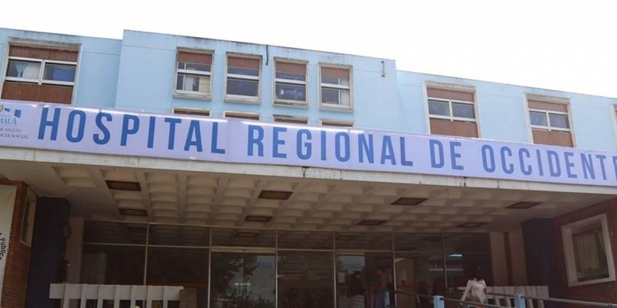 Hospital Regional de Occidente suspende visitas por sismo