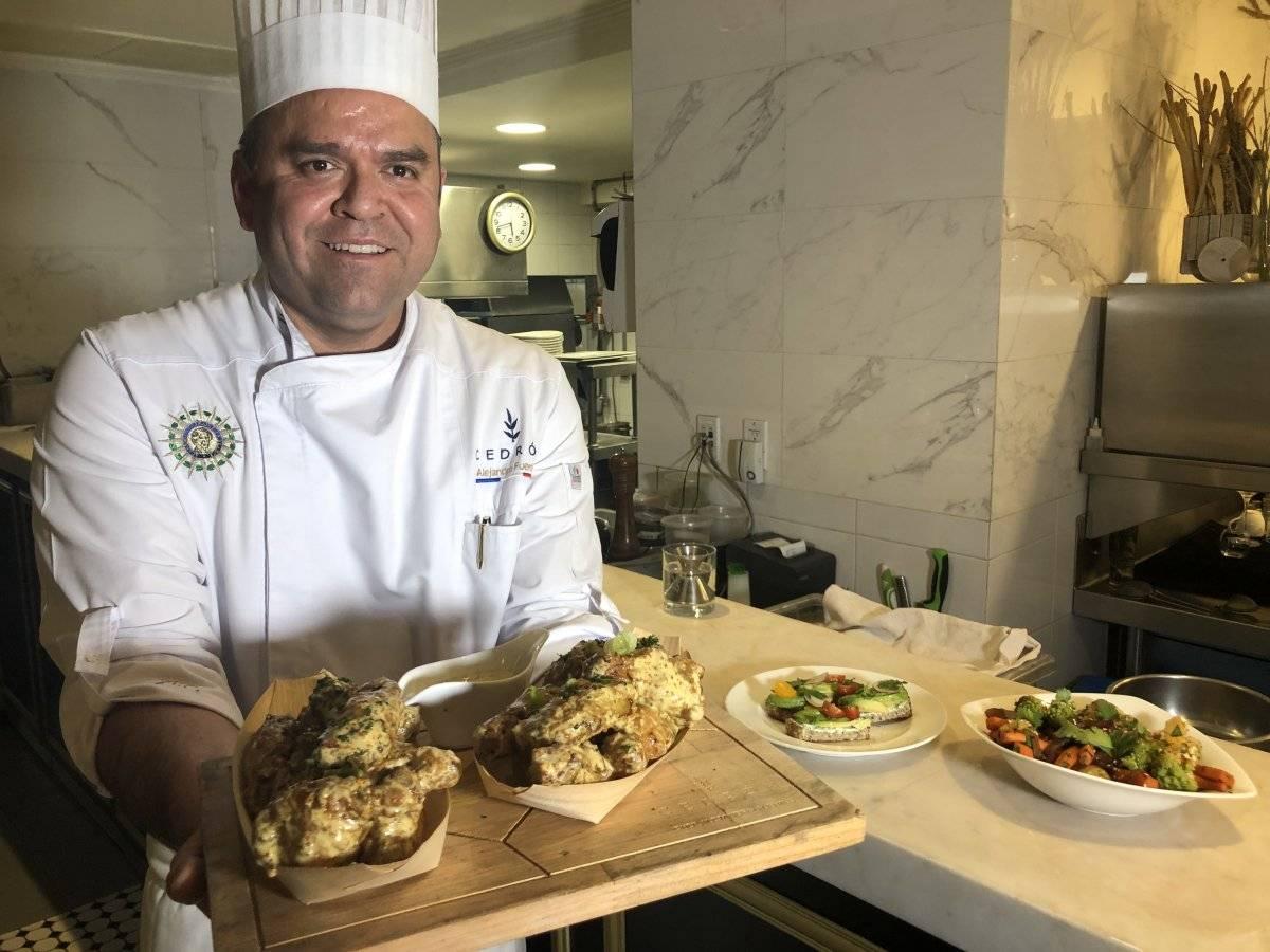 Chef Alejandro Fuentes
